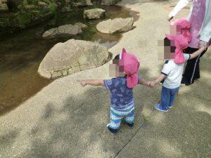 公園で散策